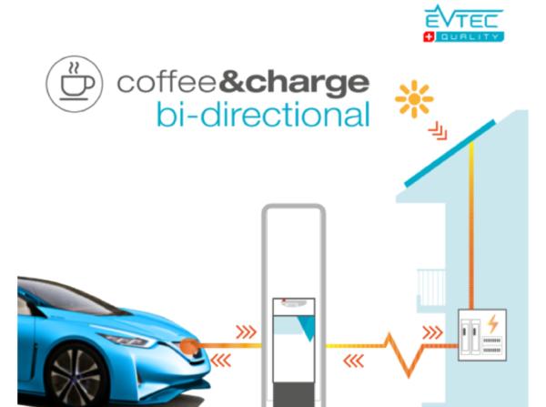 Evtec coffee&charge bidirectional