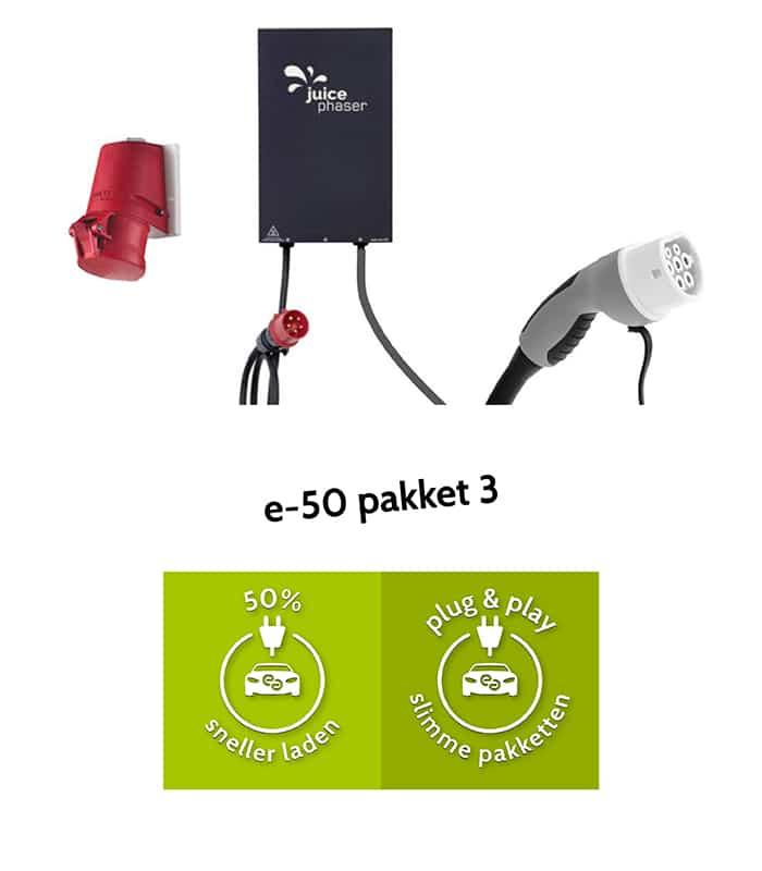 e-50 pakket 3 - 50% sneller laden