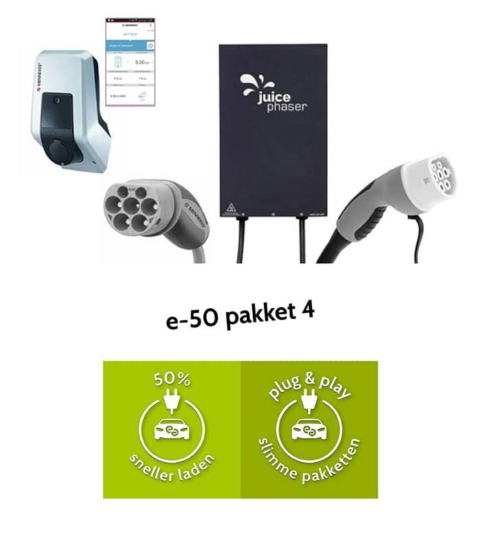 e-50 pakket 4 - 50% sneller laden