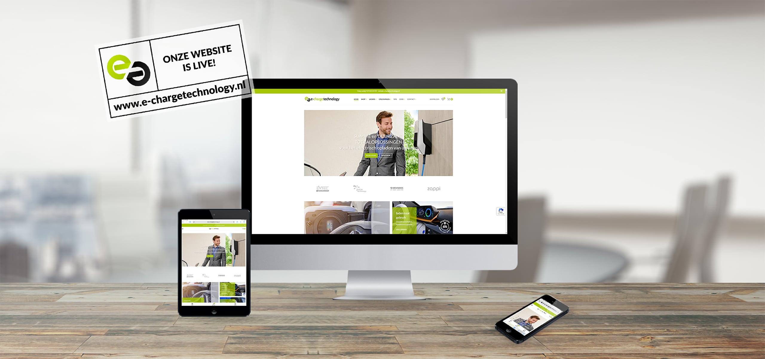 e-charge technology lancering website